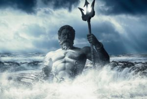 Poseidon or Neptune god of the Sea
