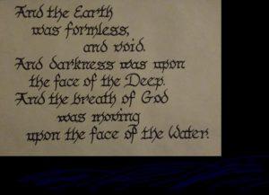 Understanding Genesis chapter 1 verse 2