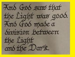 Understanding Genesis Chapter 1 verse 4