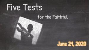Sunday Worship | June 21, 2020